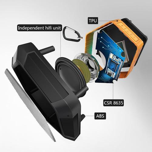 Ip65 impermeabile altoparlanti bluetooth portatile outdoor - Stereo casse wireless ...