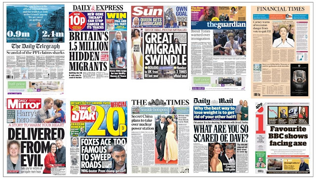 Front pages 13-05-16