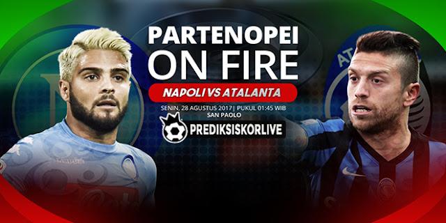 PREDIKSI Napoli vs Atalanta: Partenopei On Fire