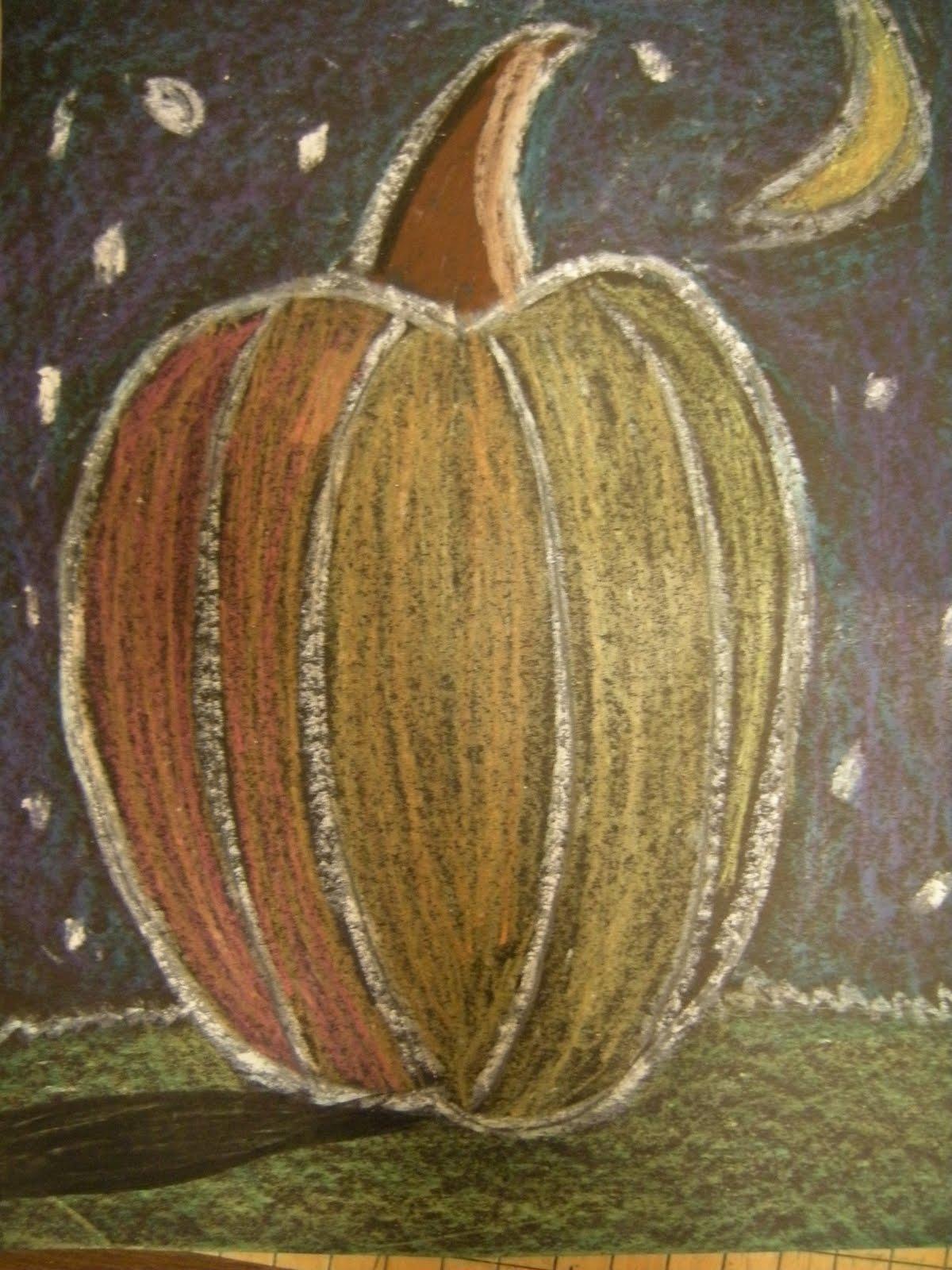 artolazzi pumpkin drawings