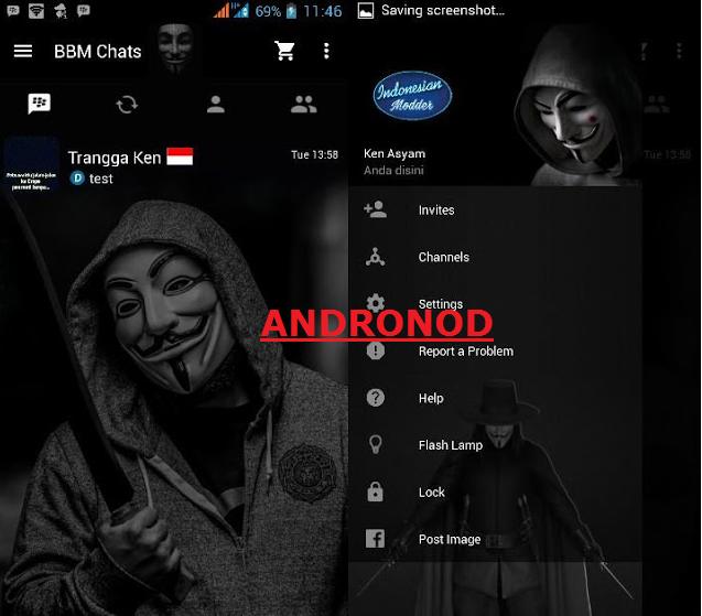 BBM Mod Anonymous v2.12.0.9 Apk