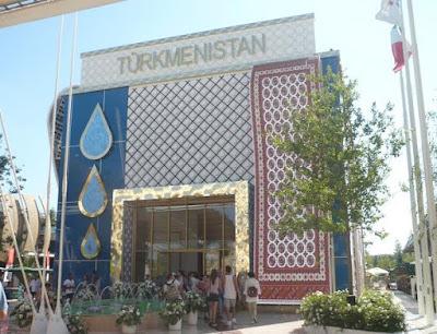 Expo 2015 padiglione Turkenistan