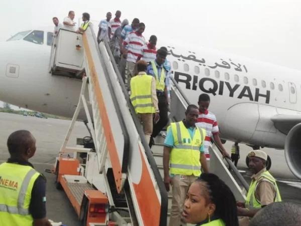 249 nigerians return libya