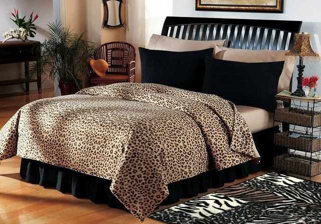 DECORACIÓN DE DORMITORIOS CON ANIMAL PRINT