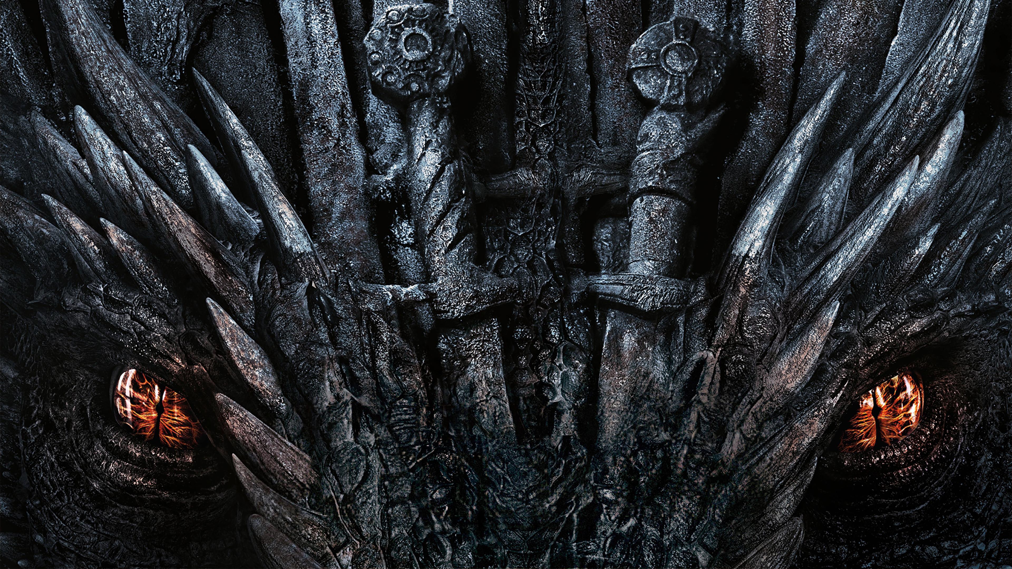 Game Of Thrones Dragon Eyes Season 8 4k Wallpaper 64