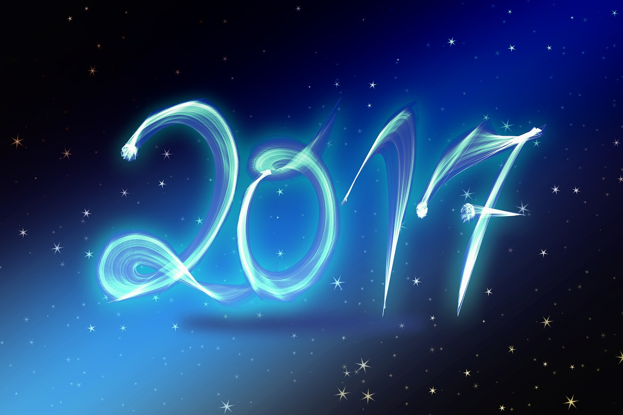 Happy New Year 2017 Wallpaper - Daungy