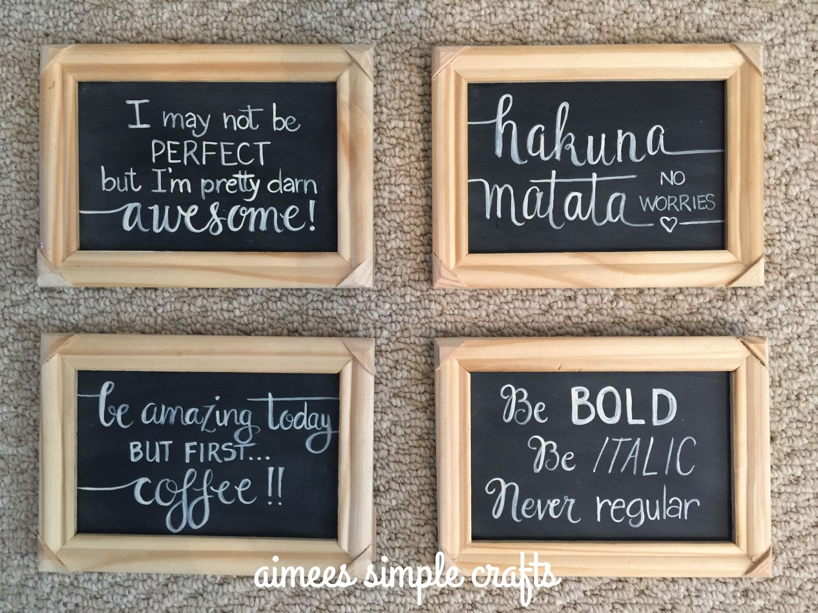Frames With Quotes On Them: SMALL SAYINGS
