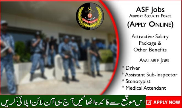 ASF Jobs 2020 (Apply Online) – Airport Security Force
