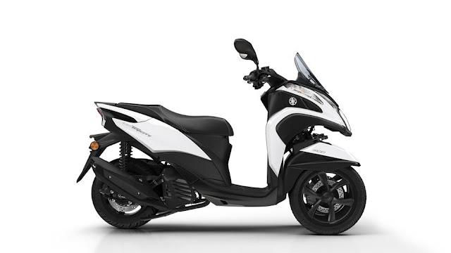 Yamaha Tricity 155 Milky White
