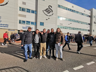Outside the Liberty Stadium