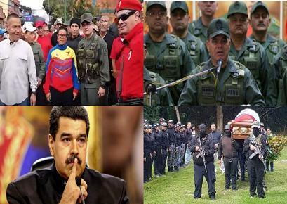 MADURO HACE SILENCIO ANTE PADRINO CONTRA COLECTIVOS. POR SEBASTIANA BARRÁEZ