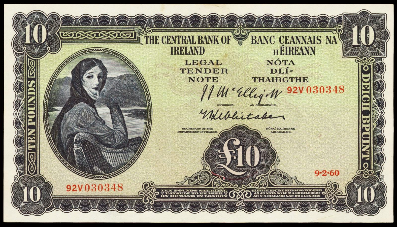 Irish Banknotes Lady Lavery