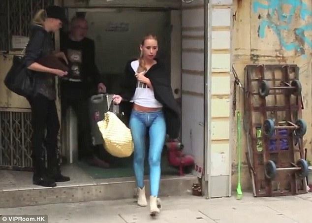Image result for women walking skinny jeans