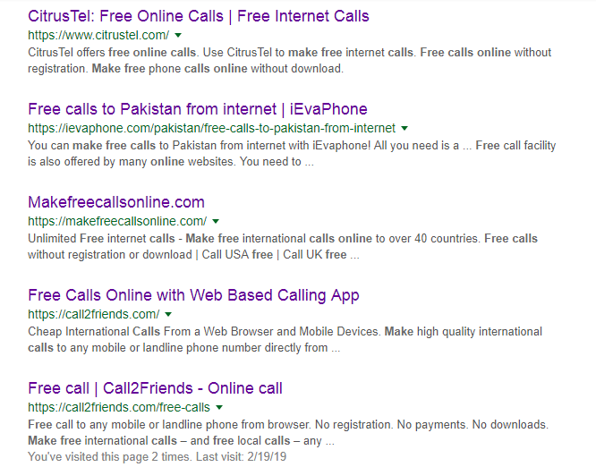 How to Free Calls Online [International Free Online Calling