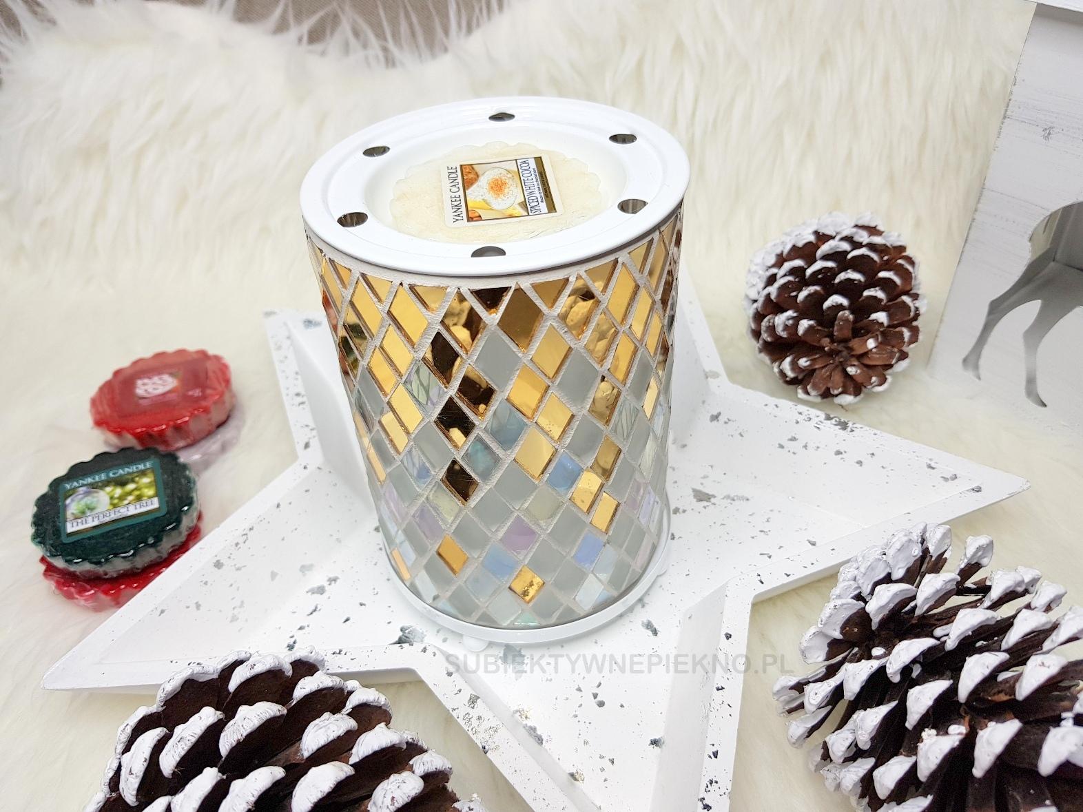 Pomysły na prezenty świąteczne do 100zł - Kominek zapachowy Yankee Candle Celebrate i woski
