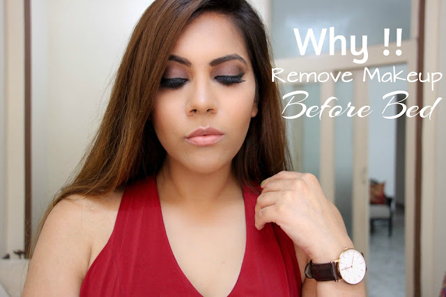 Why is it Important to Remove Makeup Before Bed, home-remedies, all natural makeup remover, bed time face cleansing, bad effects of sleeping with makeup on,delhi blogger,indian blogger, delhi fashion blogger,beauty , fashion,beauty and fashion,beauty blog, fashion blog , indian beauty blog,indian fashion blog, beauty and fashion blog, indian beauty and fashion blog, indian bloggers, indian beauty bloggers, indian fashion bloggers,indian bloggers online, top 10 indian bloggers, top indian bloggers,top 10 fashion bloggers, indian bloggers on blogspot,home remedies, how to