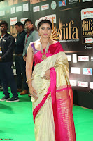 Sneha Looks Super cute in Red Silk Saree at IIFA Utsavam Awards 012.JPG