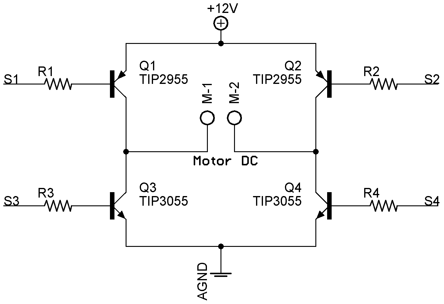 H Bridge Mosfet Vs Bjt