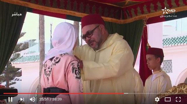 توشيحات ملكية بتطوان لكفاءات وطنية مغربية و للتلميذتين المتفوقتين في الباكالوريا
