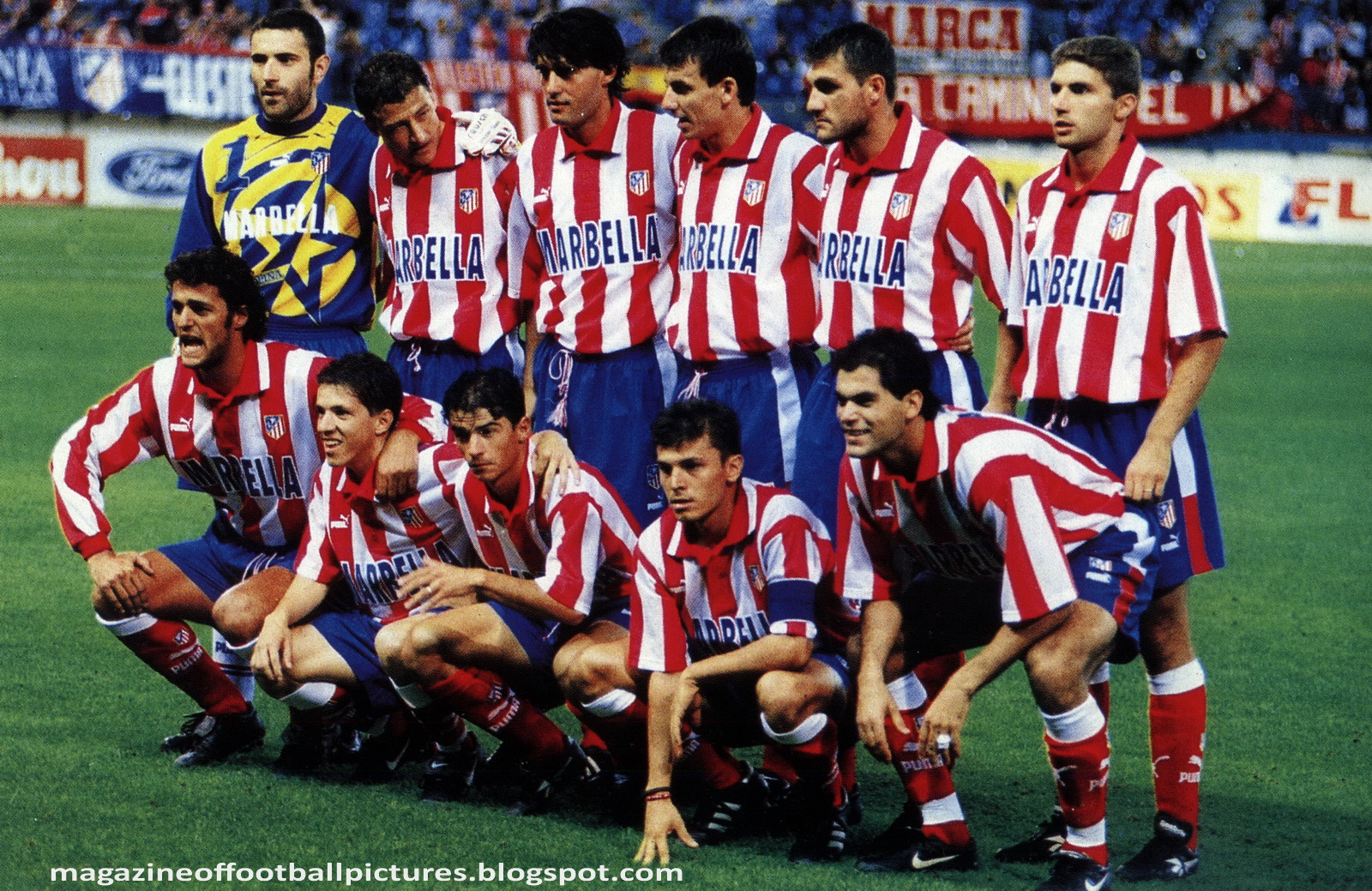 Atletico Madrid 1997