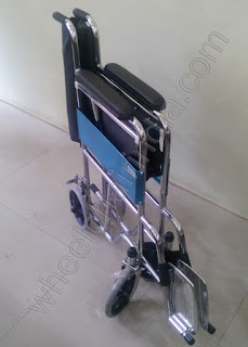 Wheelchair With 4 Small Wheels