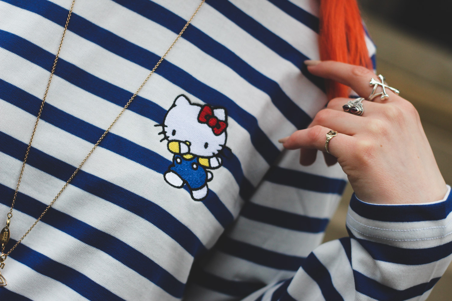 Alternative fashion blogger foxxtailz in Hello kitty x ASOS