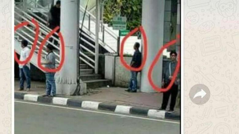 Viral di Medsos Foto Formasi Copet di Kawasan ini, Polisi Berhasil Bekuk 6 Pencopet