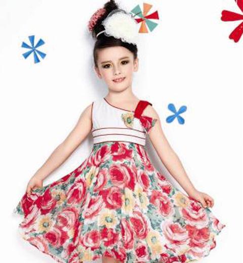 Model Baju Batik Anak Perempuan Terbaru 2019