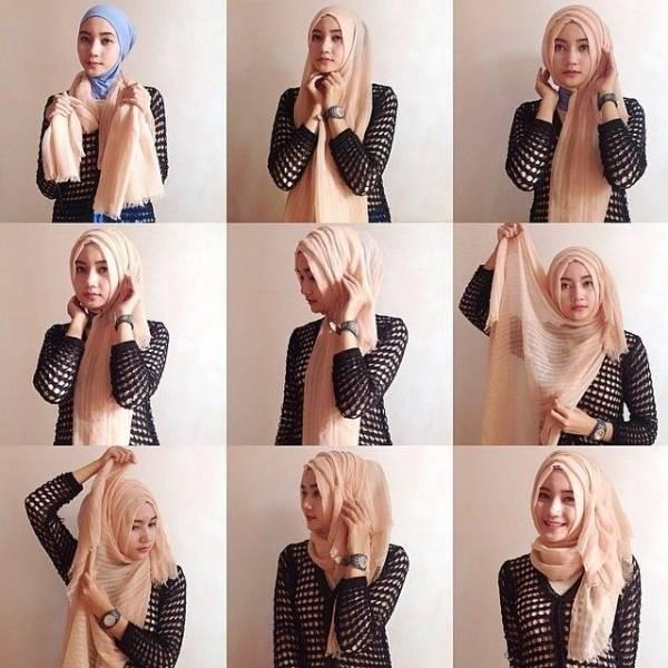 Ciri Khas Jilbab Rawis yang Cantik Serta Tutorial Simple Menggunakan Jilbab Rawis