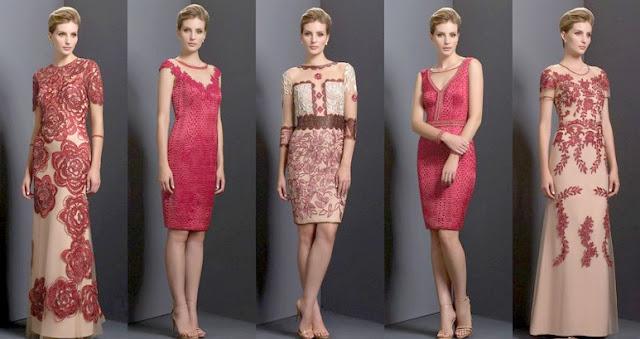 Модные цвета новогоднего платья