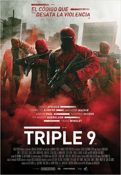 Download Triple 9 2016 CAM Subtitle Indonesia