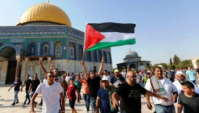 Israel Tutup Semua Gerbang Masjid Al-Aqsha