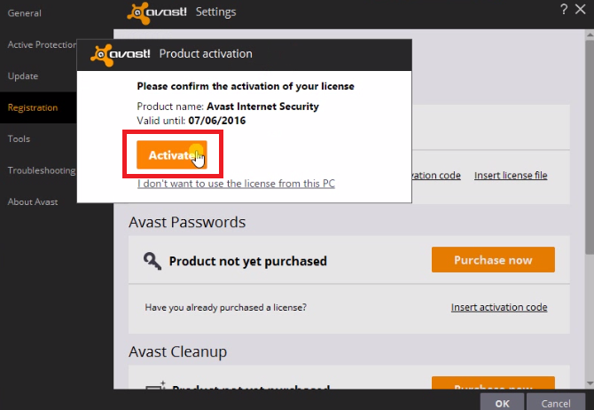 avast internet security crack only