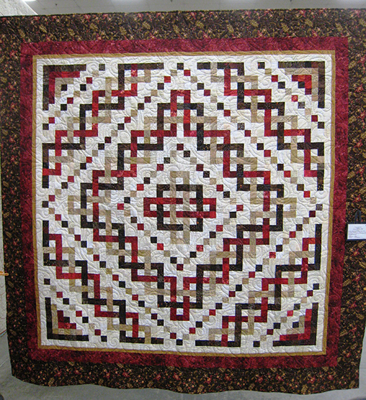 Trinity Celtic Knot Quilt Free Pattern
