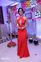 Alankrita new actress in Red Deep Neck Gown Stunning Pics ~  Exclusive Galleries 026.jpg