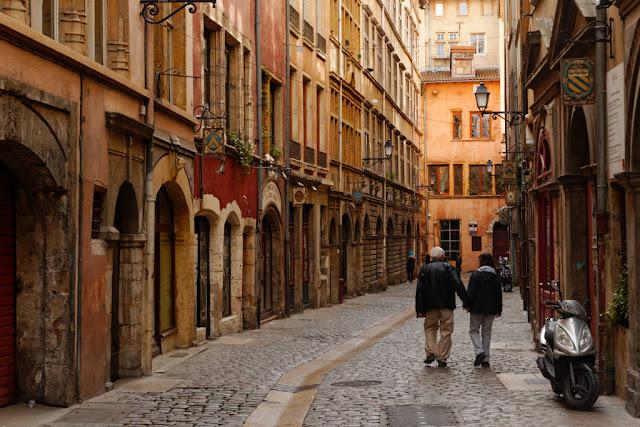 Passeio pela Vieux Lyon