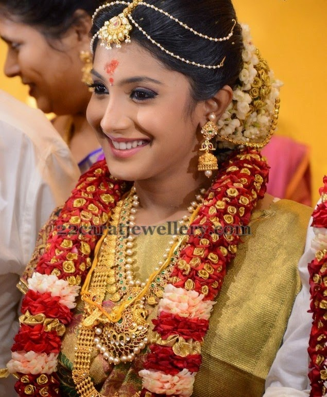 Raj Tv Md Daughter Wedding Jewellery Designs