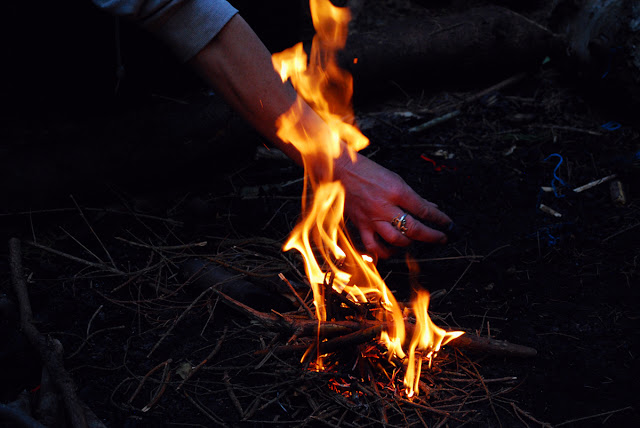 Branching Out Aberdeen - ecotherapy - campfire
