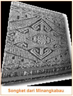 Kain Songket dari Minangkabau