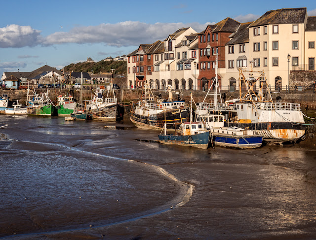 Photo of Maryport Harbour at low tide