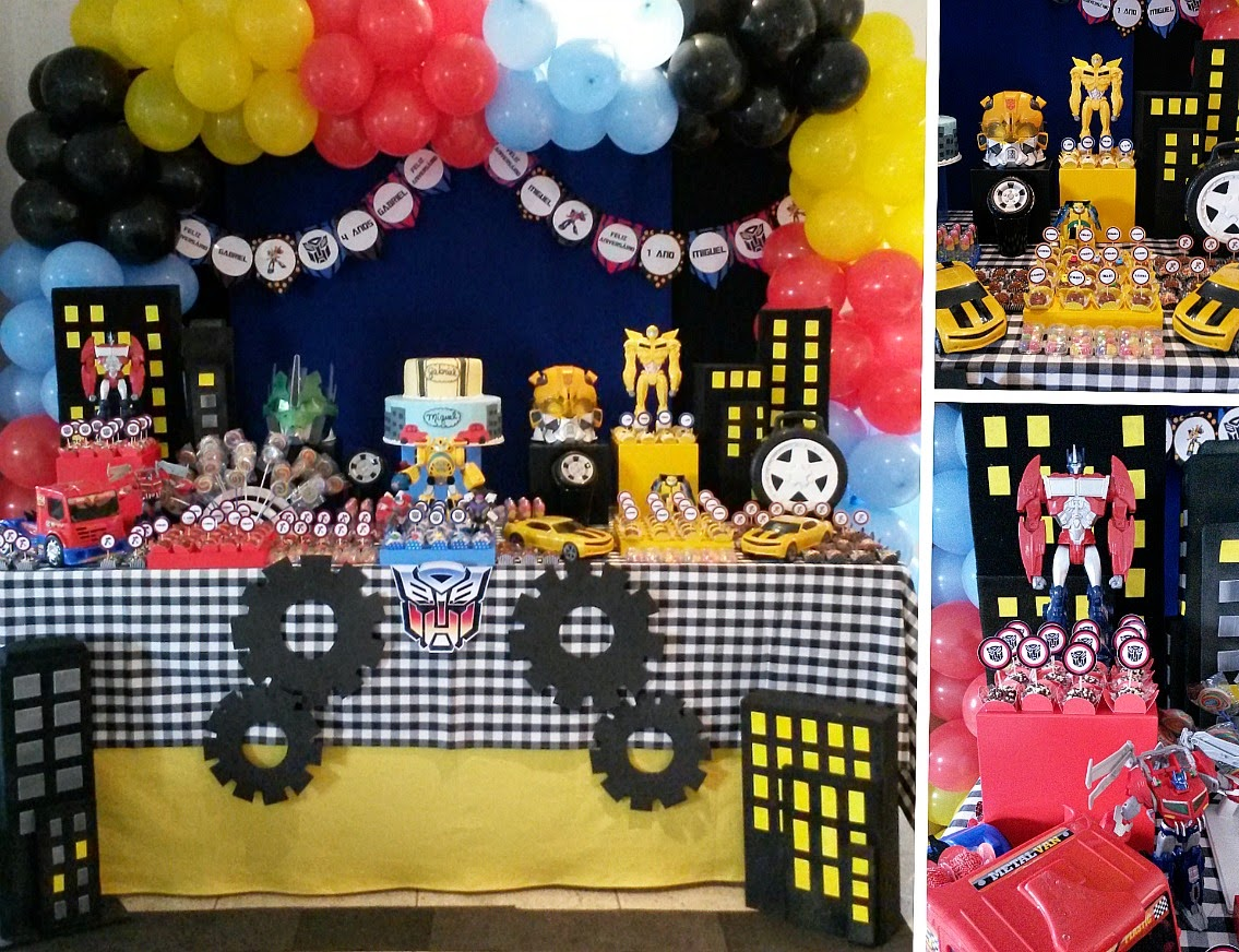 1135 x 872 · 292 kB · jpeg, Festa Infantil Transformers source http