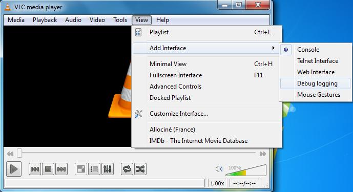 Debug Logging ~ VLC Media Player Secrets