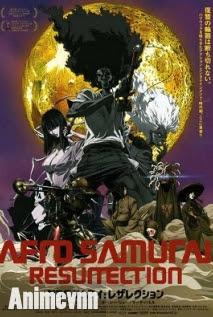 Afro Samurai Resurrection -Sự hồi Sinh - Afro Samurai Sự Hồi Sinh 2013 Poster