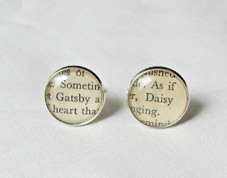 the great gatsby cuff links cufflinks handmade two cheeky monkeys daisy buchanan