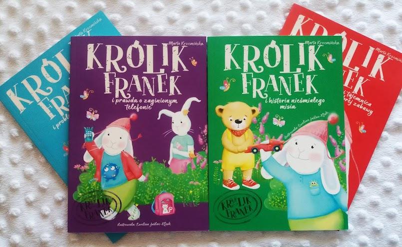 """Historie z morałem: """"Królik Franek..."""" - Marta Krzemińska"""