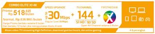 Paket First Media Combo Dlite X1 4K