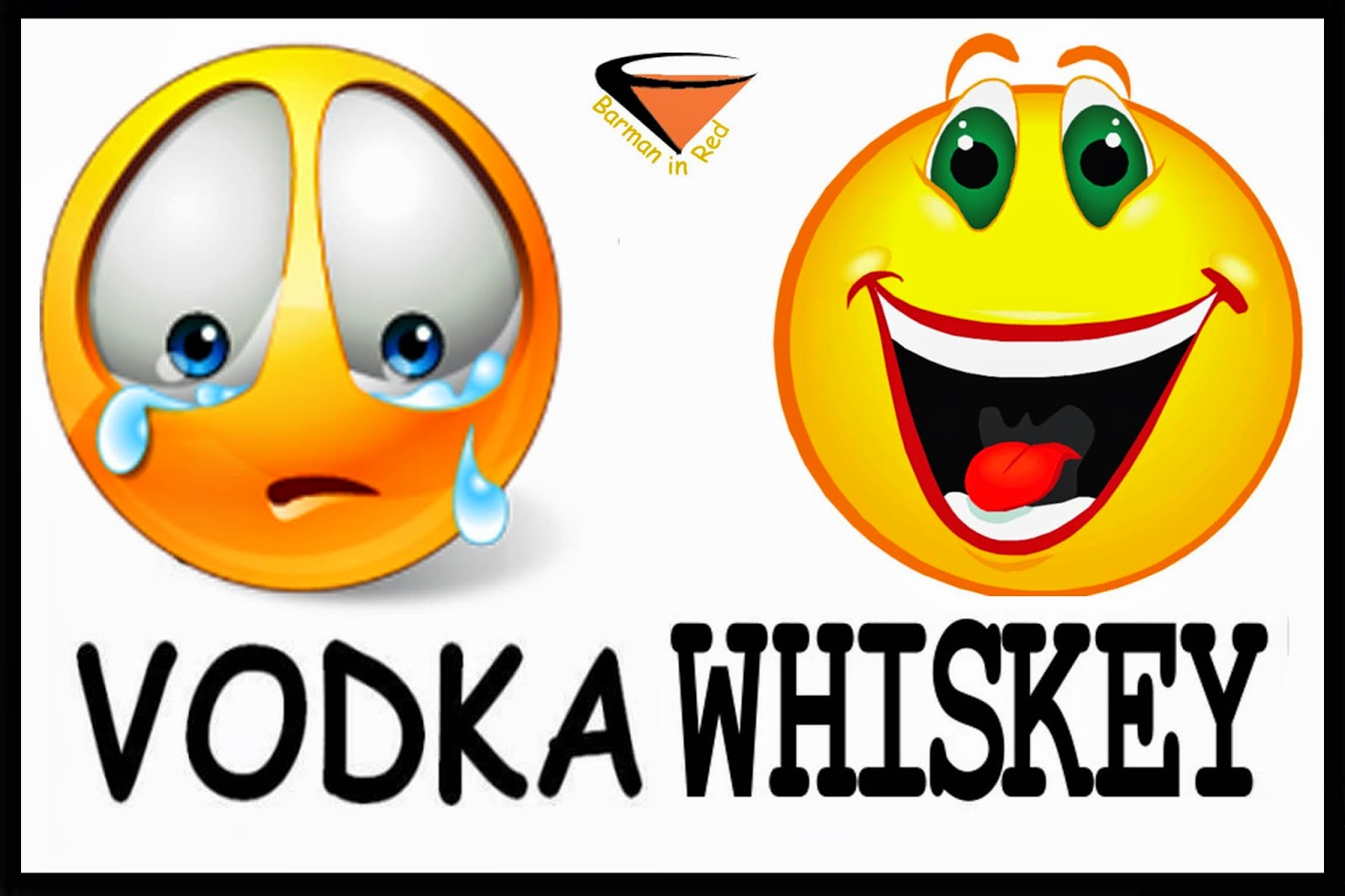 vodka y whisky