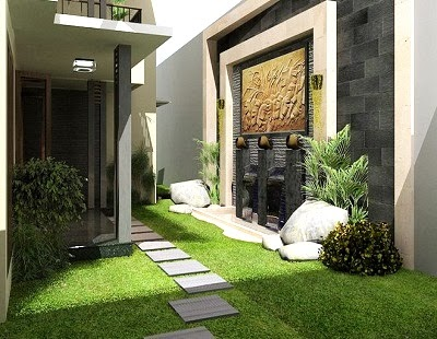 20 Gambar Desain Taman Rumah Minimalis Terbaru 2017