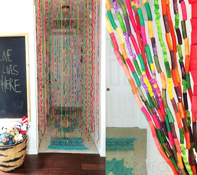 Alisaburke: Noodle Bead Curtain
