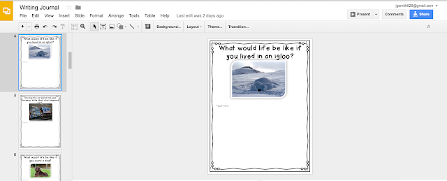 Use all of the features in Google Slides as you type: research tool and reference sources